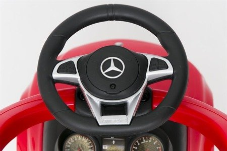 639P Ride-on Cra with a handle & visorMERCEDES C63RED