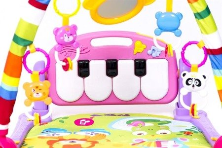 170203 Play Mat with Piano- Pink