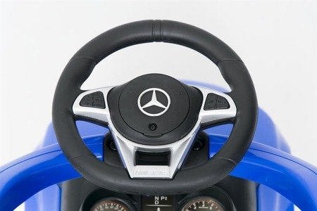 639P Ride-on Car  with a handle & visor MERCEDES C63BLUE