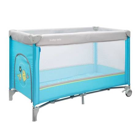 8052-184 Travel Cot with 1 level Blue