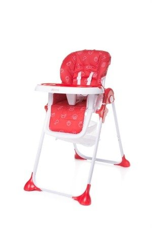 High Chair DECCO RED