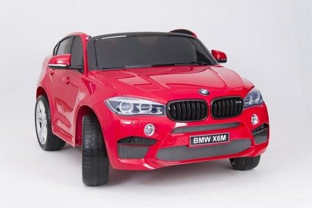 JJ2168 Battery Car BMW 12V PILOT EVA RED