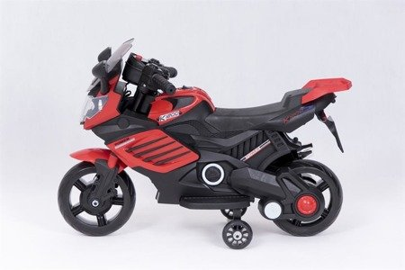 LQ-158 Baterry Motorbike 6V 4,5A red