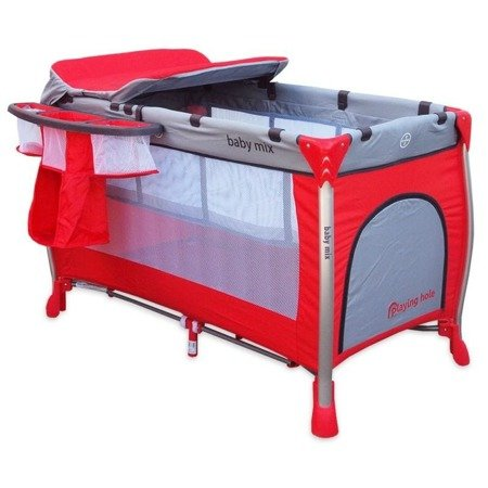P-A001 Travel cot – red