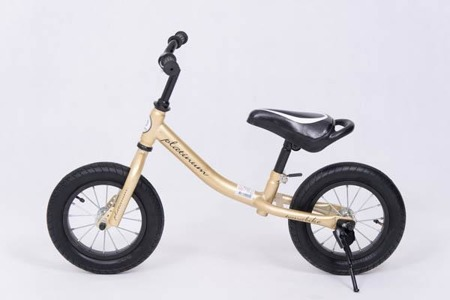 YQ-09 Balance Bike Air Wheel 12' Gold/Black